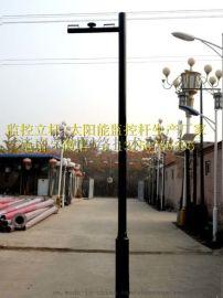 济南监控杆 现货供应 监控立杆 操作台 防水箱