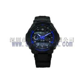 深圳手表厂家供应SPIKE新款多功能双显运动手表