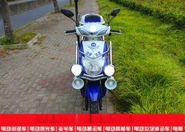 西安电动巡逻车 两轮电瓶车  电动巡逻摩托车