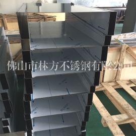 定制加工 不锈钢包边装饰U型槽 304不锈钢收边条