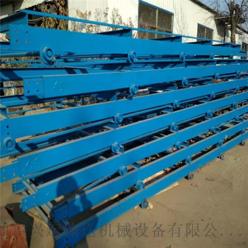 链板输送机定做新品 倾斜式链板输送机图片厂家直销河南