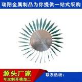 定製電子鋁散熱器型材加工,高密齒散熱器鋁合金擠壓