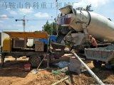 鲁科重工告诉你卧式微型细石混凝土泵内吸入空气要这样处理