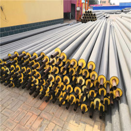 玉林 鑫龙日升 地埋式预制保温管DN500/529供暖管线预制直埋聚氨酯保温钢管