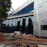 大樓牆面圖案鋁單板背景牆 專業穿孔雕花鋁單板