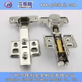 今得利固装不锈钢铰链 加强型液压铰链 厂家直销缓冲铰链