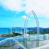 旅遊景區的玻璃觀景平臺美嗎