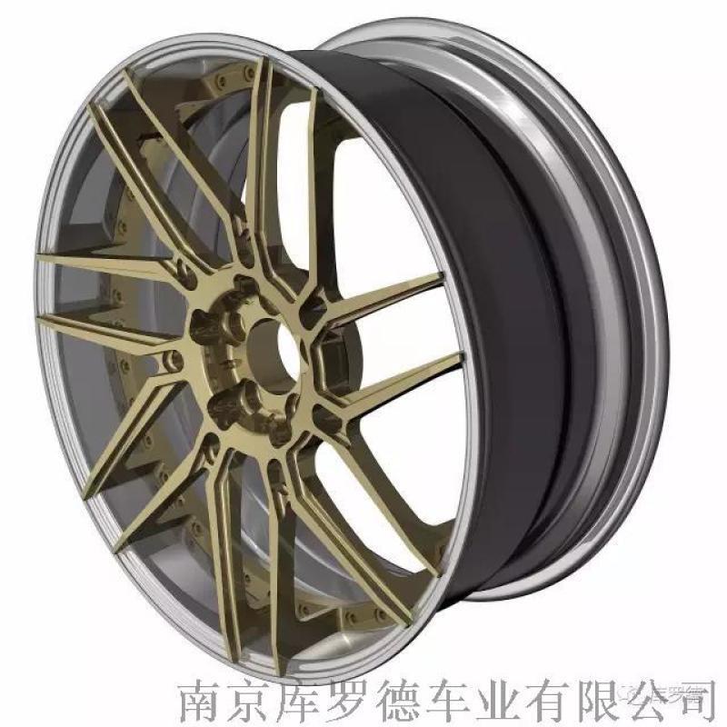 經典兩片式改裝轎車鍛造鋁合金輪轂1139