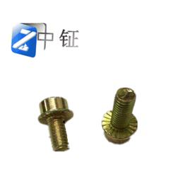 DIN251内六角圆柱头法兰面螺栓(防滑螺钉)8.8级 带齿螺丝