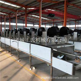 胡萝卜清洗风干成套设备  强力风干机有效保护物料本身色泽和品质