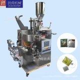 QD-18-11仙人掌茶袋泡包装机 连心茶自动茶叶包装机 标签可以跟标