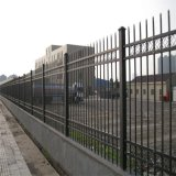 东北三省锌钢护栏网 围墙铁艺栅栏铝艺大门