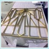 鍍銅不鏽鋼屏風加工定製佛山家居建材工藝
