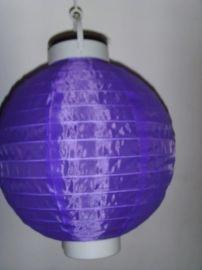 太阳能绸布灯笼
