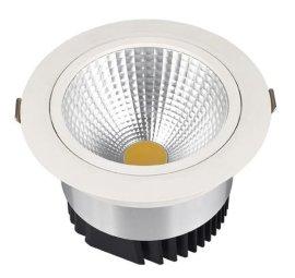 厂家直销20W COB天花射灯led天花筒灯LED嵌入式节能筒灯