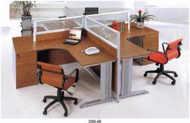 广州办公家具组合办公屏风隔断简约时尚办公电脑桌4人办公桌挡板