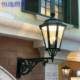 鑄鋁照明壁燈 中中山恆逸歐式壁燈壁燈 1.5米壁燈