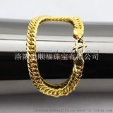 手链项链戒指现场加工 仿金首饰厂家加盟