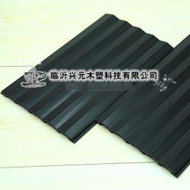 环保生态木 150三角板 159*10mm 绿可木 墙面装饰板