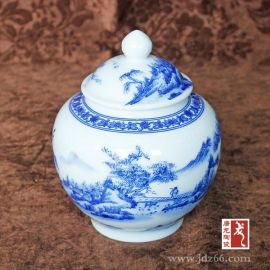 定制茶叶罐,陶瓷包装罐,罐子订制厂家,调味罐