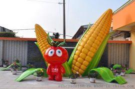 广东玻璃钢厂家推出新品种西红柿卡通人物雕塑工艺品