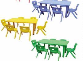 6人塑料桌