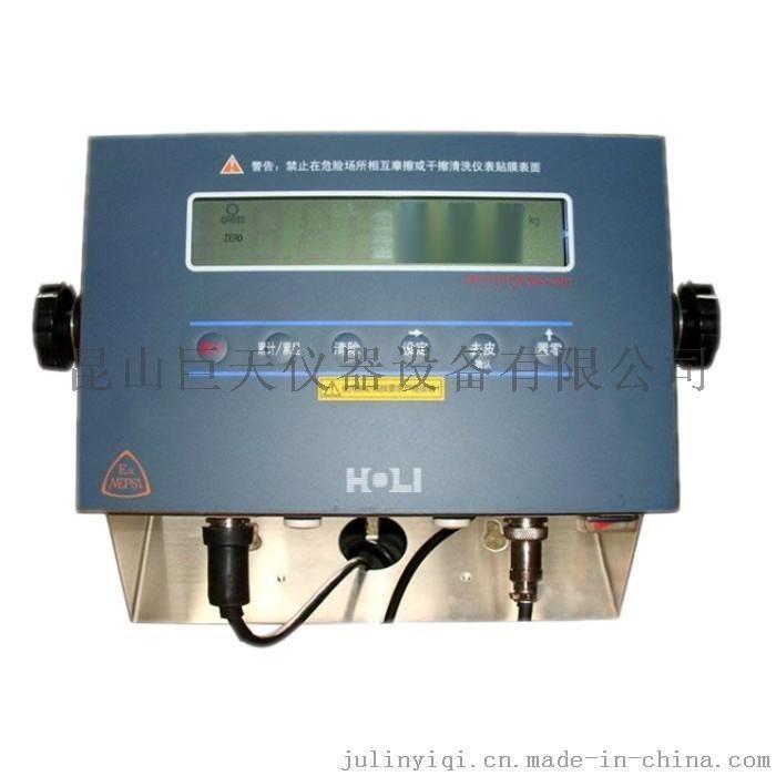 宏力防爆电子秤称重仪表 防爆地磅表头 防爆称重显示器
