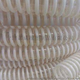 吸粮机专用耐磨塑筋软管90*0.9防静电食品级平滑物料管