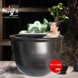 創新青花瓷洗浴大缸 避暑山莊洗浴中心專用陶瓷泡澡