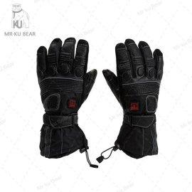 摩托车防寒电热手套|电暖加热手套|发热手套|电加热手套|KUBEAR酷熊电加热保暖手套—S