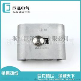 浙江巨泽:铝合金C型线夹电缆连接器电力金具,规格齐全,量大从优