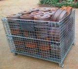 倉儲籠 金屬倉儲籠 折疊式倉儲籠 託盤 天津貨架廠