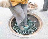 包頭窖井蓋 井蓋防護網 井蓋兜網 井蓋防墜網