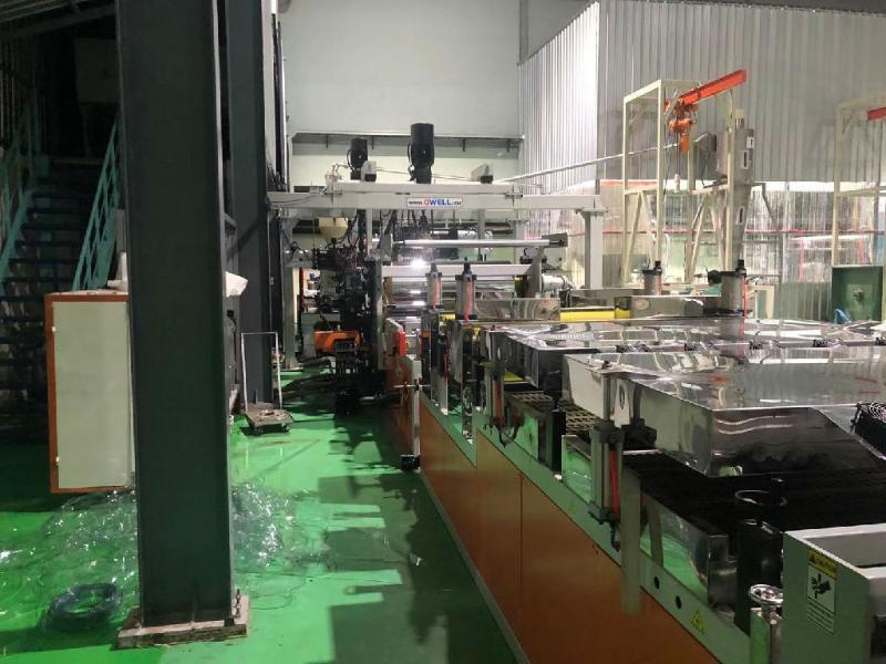 厂家供应 PET卷材生产线 PET聚酯片材设备供货商