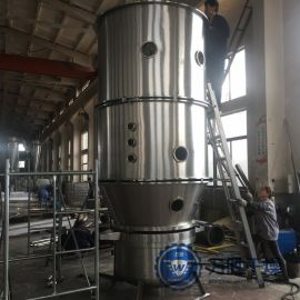 **二手120型高效沸腾干燥制粒机 胶囊添充剂一步制粒干燥机