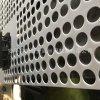 厂家专业定做塑料板冲孔网 白色pp板圆孔冲孔板 PVC食品用穿孔网