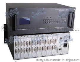 安博瑞16进16出DVI矩阵 ET-DVI16V16 DVI矩阵