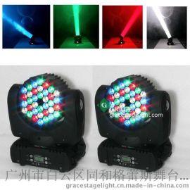 新款摇头灯36颗3W摇头光束灯 酒吧舞台灯光 LED摇头染色换色灯