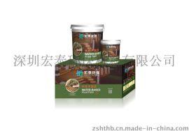 宏泰BR-801水性木器漆 清面漆 户外水性木油
