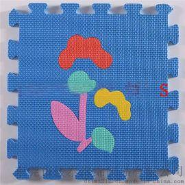 生产商热销拼接式小花草EVA地垫