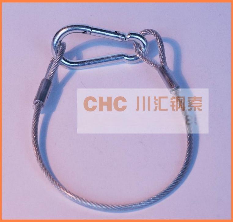 健身器材用涂塑钢丝绳,体育场馆用耐磨钢丝绳索具