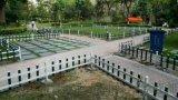 市政綠化草坪護欄 塑鋼護欄圍欄 PVC庭院圍牆護欄 pvc草坪護欄