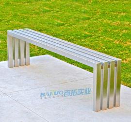 厂家直销户外休闲椅广场椅不锈钢休闲椅市政公共座椅