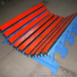 陝西35度1.2米帶式輸送機阻燃聚乙烯緩衝牀