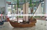 手工定做景觀木船各類裝飾船