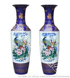 景德镇陶瓷大花瓶 博古架装 寺庙供奉大花瓶