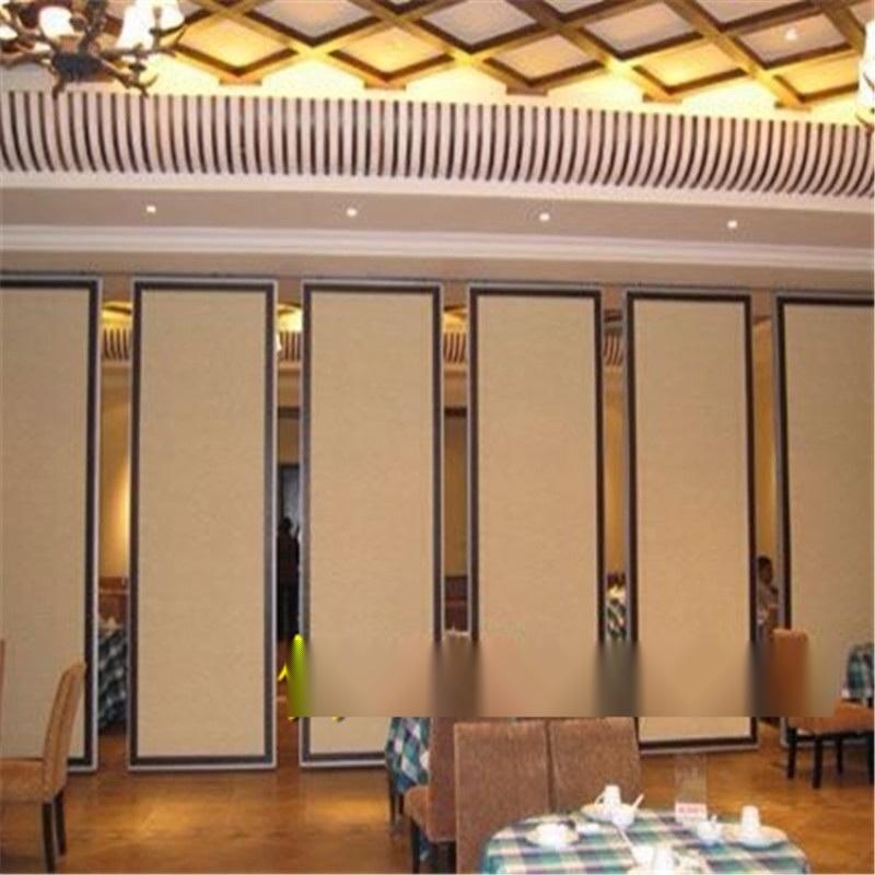 高優餐廳隔音摺疊推拉隔斷屏風廠家
