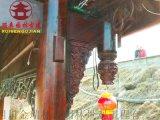 铜仁吊瓜斗拱厂家,定制加工实木撑弓,仿古吊瓜