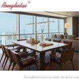荣和泰五星级酒店卧房家具定制实木多层板固装家具