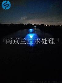 景观湖喷泉曝气机技术安装